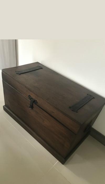 Como hacer un baúl de madera paso a paso